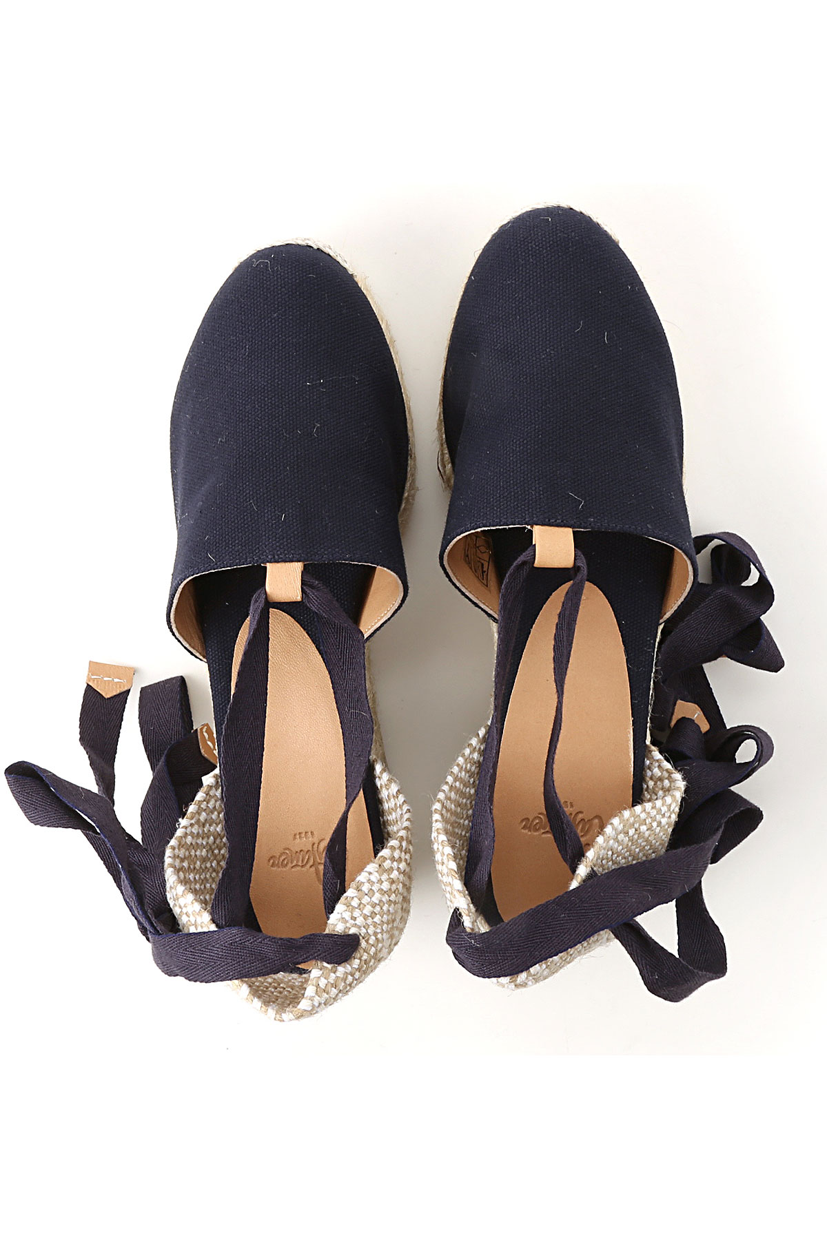 c3653df95e7e 2019 verano Azul nbsp  Para Oscuro Primavera Mujer Castaner Zapatos qPOIXX
