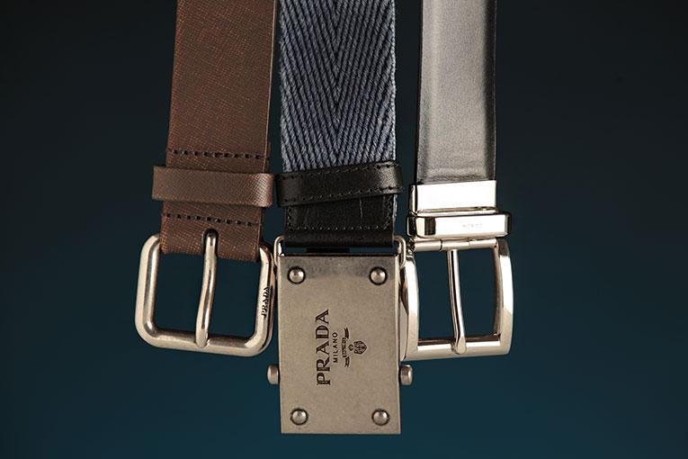 Cinturones Prada