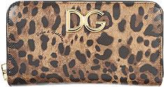 Dolce & Gabbana Monedero•Cadena para las Llaves•Porta tarjetas