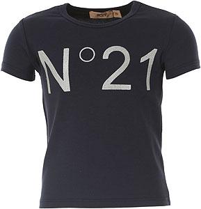 NO 21 T-Shirt Fille