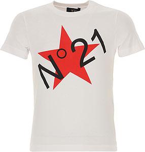 NO 21 T-Shirt Fille - Spring - Summer 2021