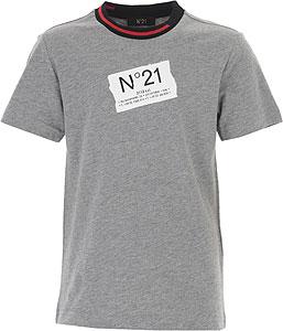 NO 21 T-Shirt Garçon - Spring - Summer 2021
