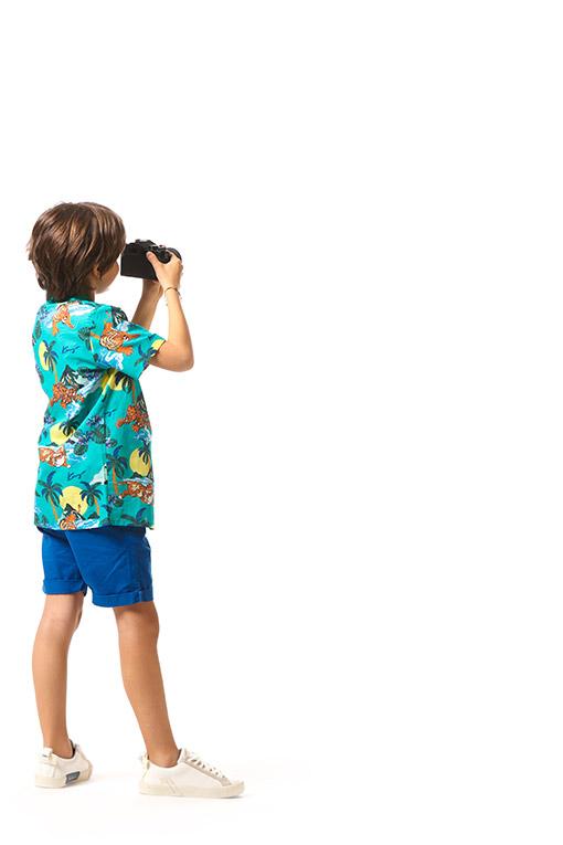 Chemises Enfant de Marques pour Garçon