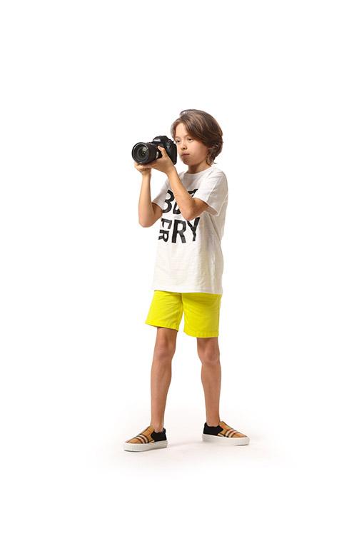 Vêtements Enfant Burberry pour Garçon