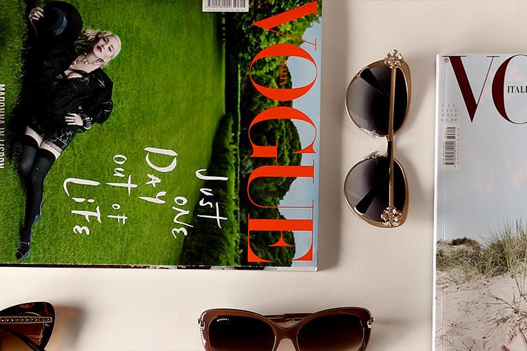 08031c060a bvlgari lunettes de soleil femme prix,Prix raisonnable Femme Havane Or  Cristal Teinte Marron Strass aux tempes ...