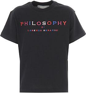 Philosophy di Lorenzo Serafini T-Shirt Bambina - Spring - Summer 2021