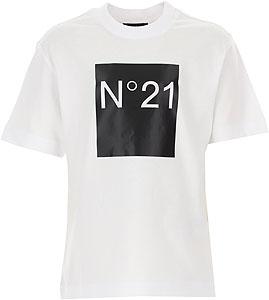 NO 21 T-Shirt Bambina - Autunno - Inverno 2020/21