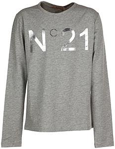 NO 21 T-Shirt Bambina