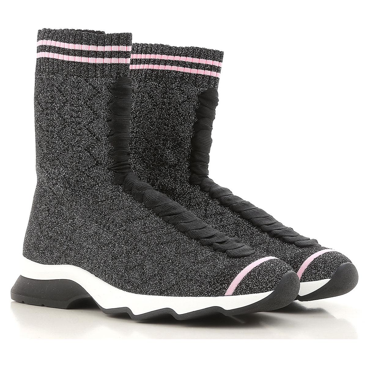 Offerte Limitate Fendi Scarpe Sneakers Donna