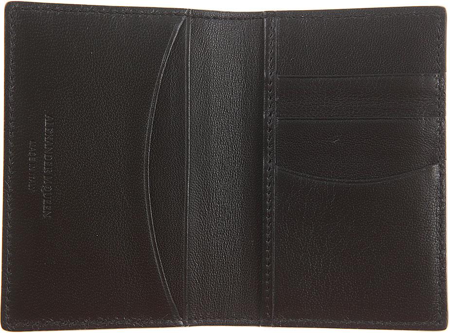 Portafogli Donna Alexander McQueen, Codice Articolo: 305073-bpt0g-1000