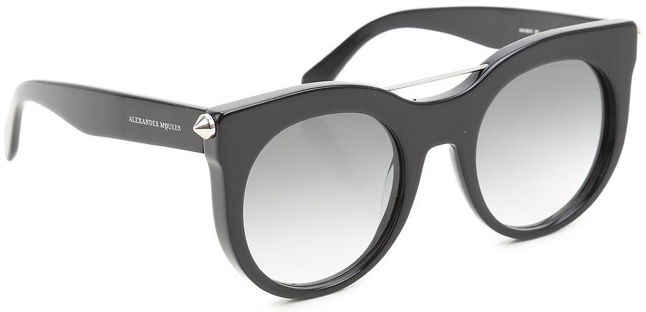 Occhiali da Sole Alexander McQueen, Codice Articolo: am0001s-001-