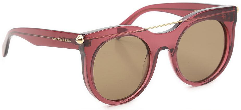 Occhiali da Sole Alexander McQueen, Codice Articolo: am0001s-004-
