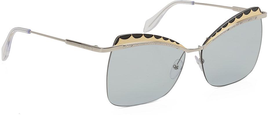 Occhiali da Sole Alexander McQueen, Codice Articolo: am0069s-002-
