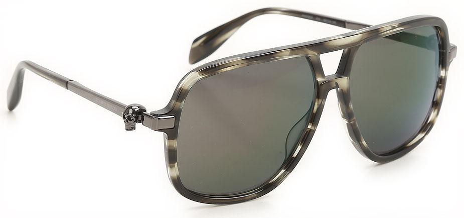 Occhiali da Sole Alexander McQueen, Codice Articolo: am0080s-004-