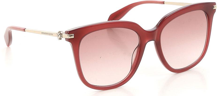 Occhiali da Sole Alexander McQueen, Codice Articolo: am0107s-003-