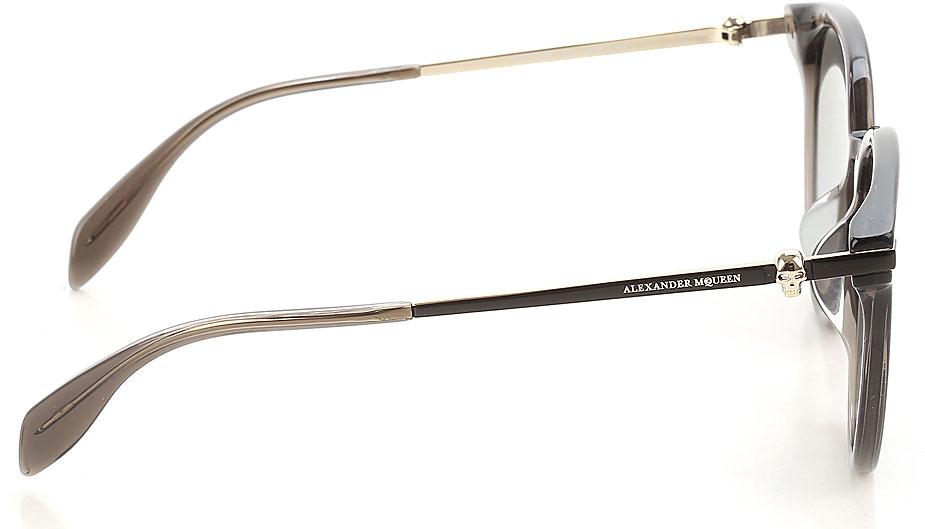 Occhiali da Sole Alexander McQueen, Codice Articolo: am0122sk-003-