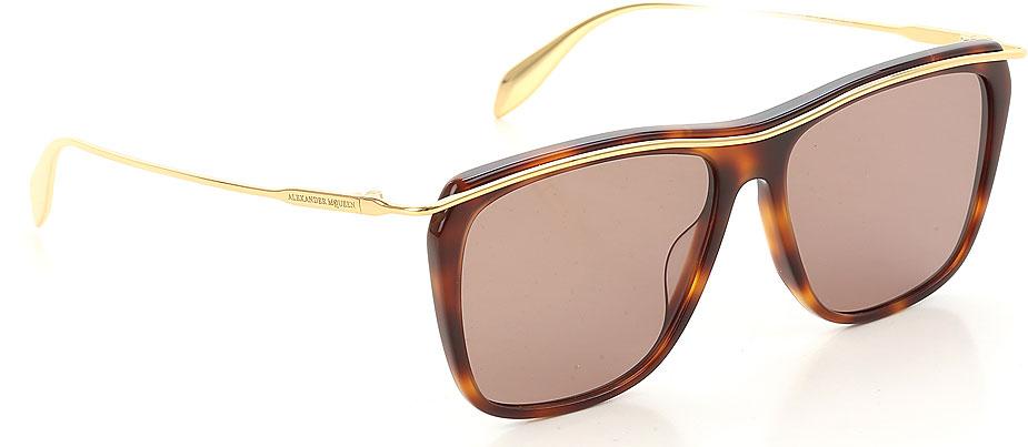Occhiali da Sole Alexander McQueen, Codice Articolo: am0143s-001-