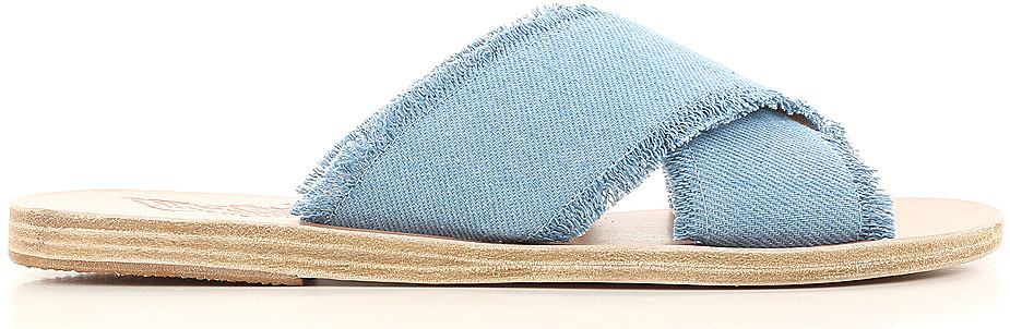 Scarpe Donna Ancient Greek Sandals, Codice Articolo: thais-denimlightdenim-