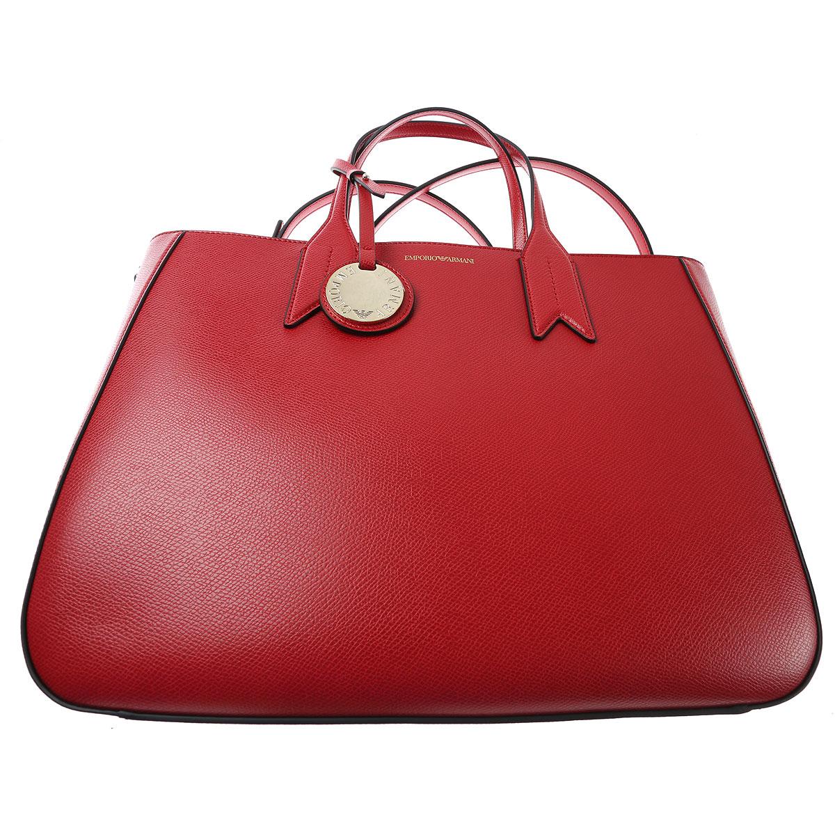 Bag Bolso Emporio Raffaello Armani Tote rojo network El Aqwwt1nUx