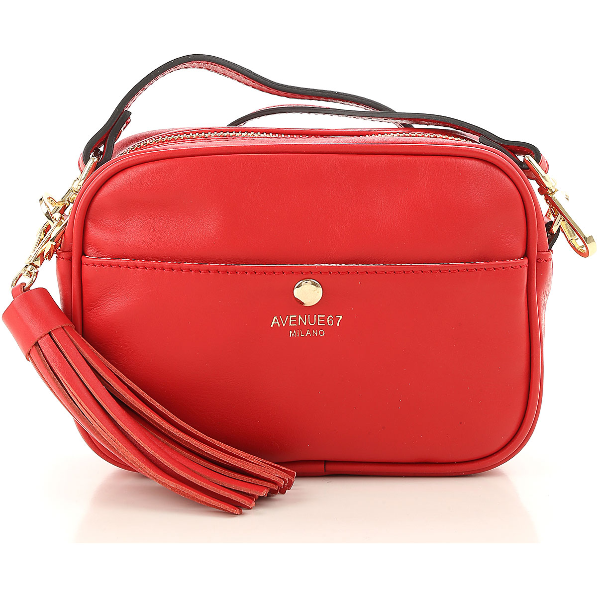 Red Cherie shoulder bag AVENUE 67 rjefpVoHFB
