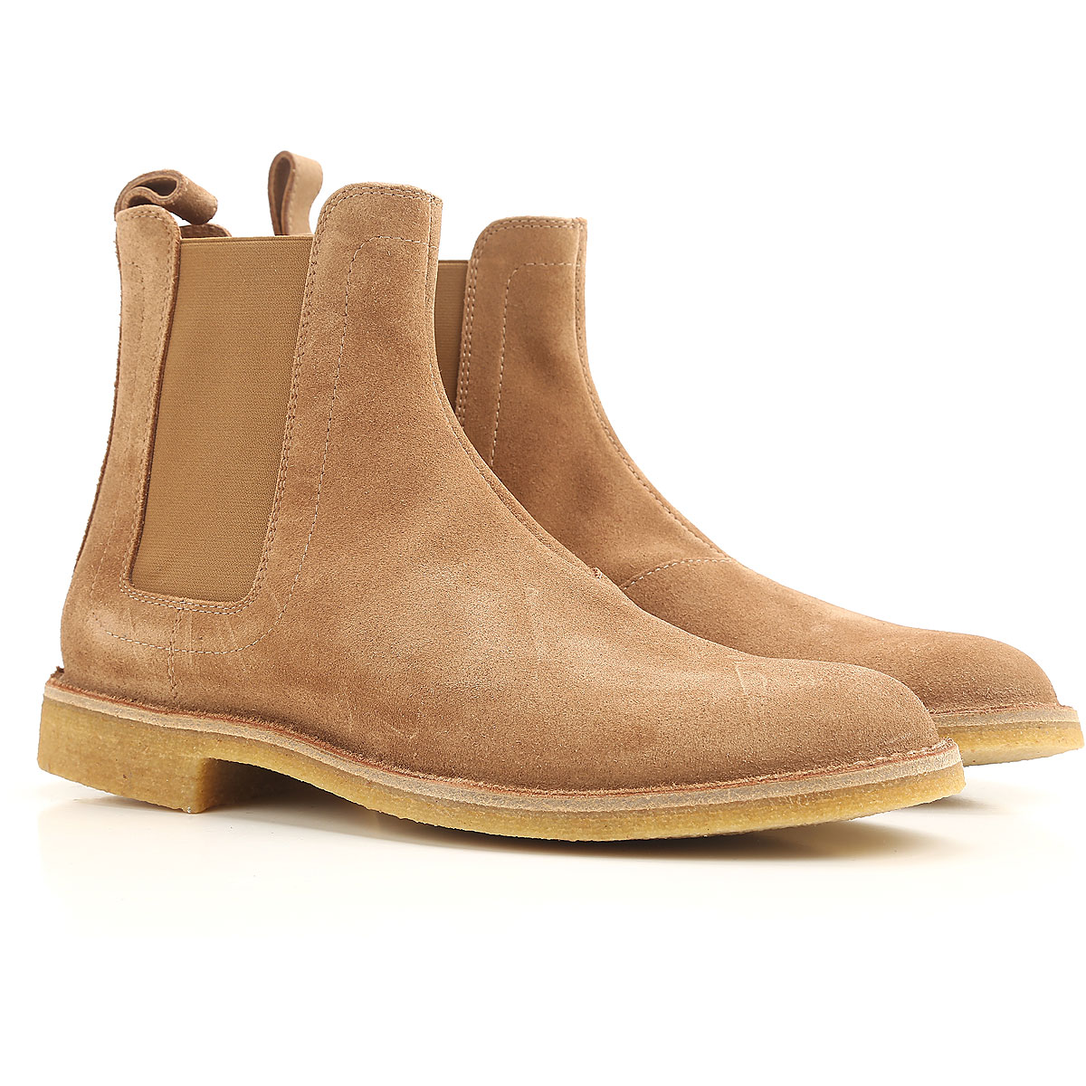 Boots for Men, Booties On Sale, Camel Brown, Leather, 2017, 7.5 8 Bottega Veneta