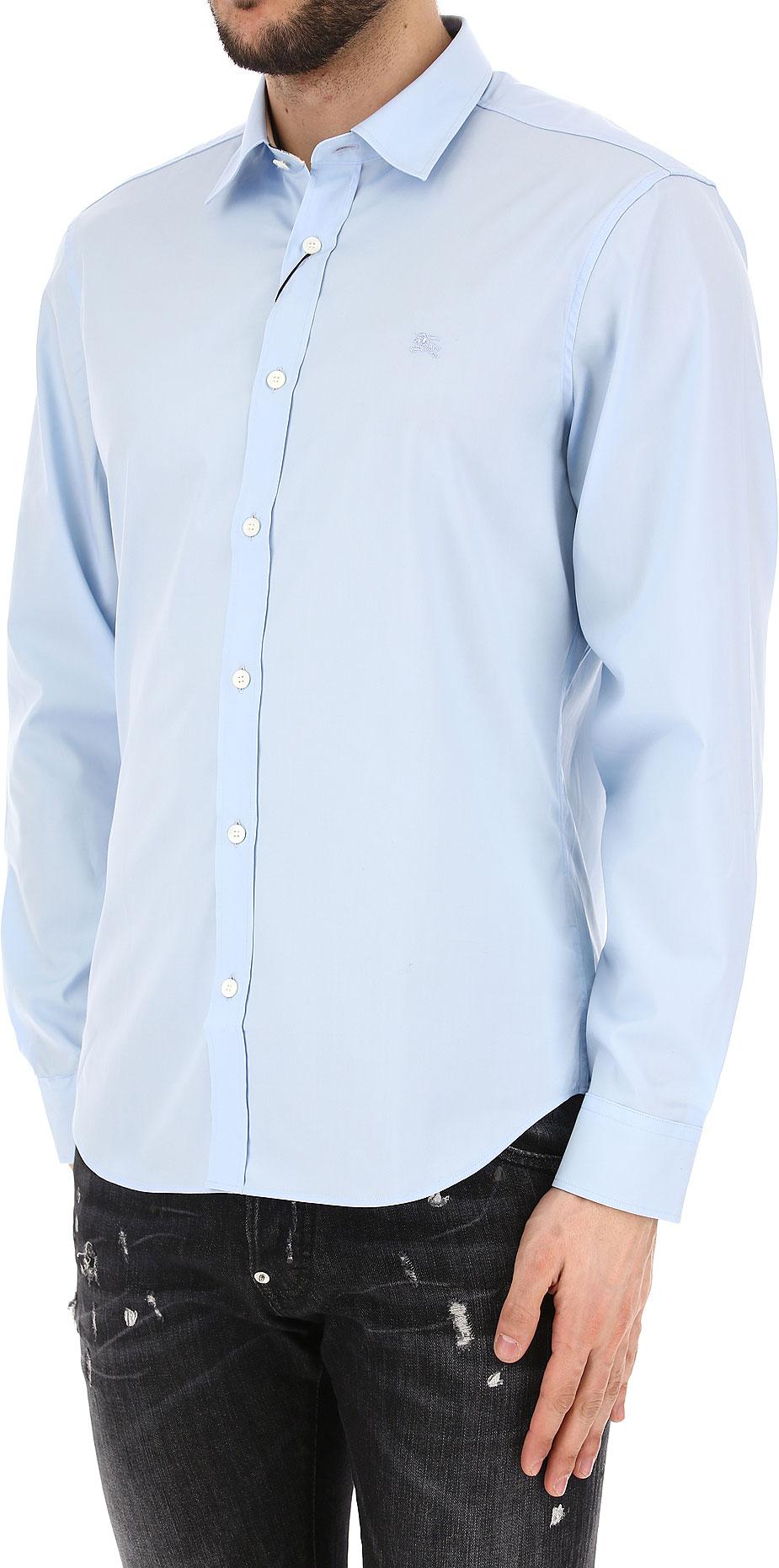 Abbigliamento Uomo Burberry Codice Articolo 3991160-1001-paleblue