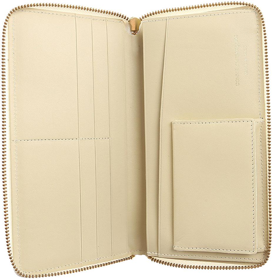 Portafogli Donna Comme des Gar�ons, Codice Articolo: sa0110-bianco-