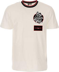 blanco network Raffaello El Camiseta Primavera Alexander verano Hombre Mcqueen De HC0O0x