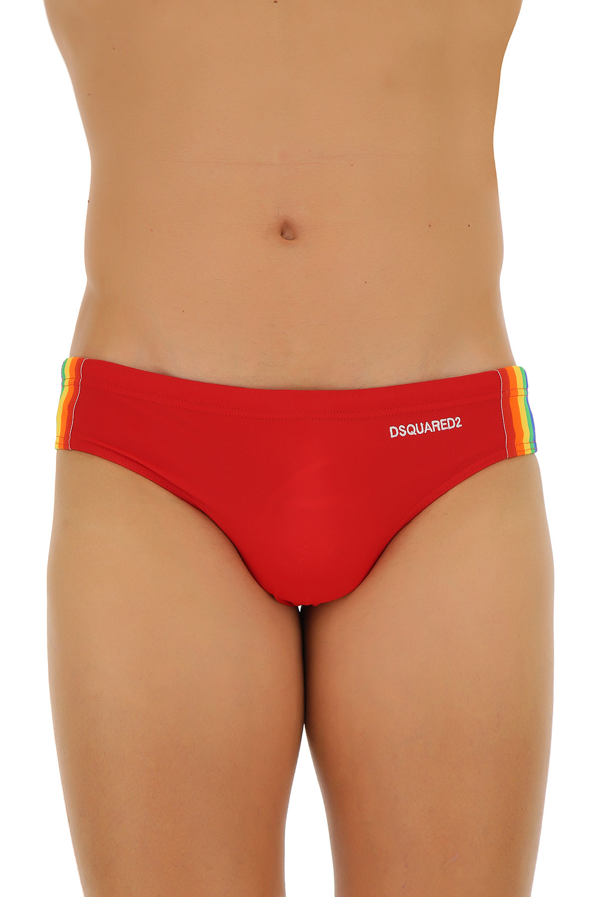 Mens Swimwear On Sale, Red, polyamide, 2017, S (EU 46) L (EU 50) XL (EU 52) Dsquared2