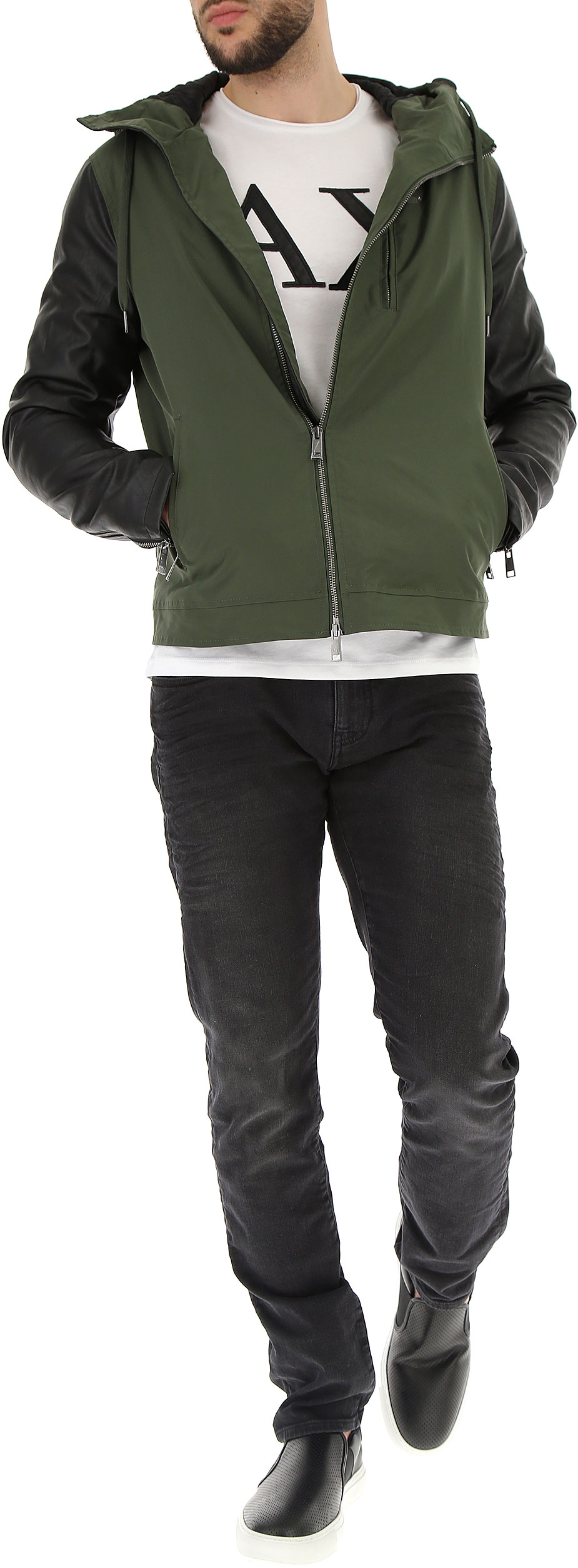 Abbigliamento Uomo Emporio Armani, Codice Articolo: 3zzb05-znctz-1829
