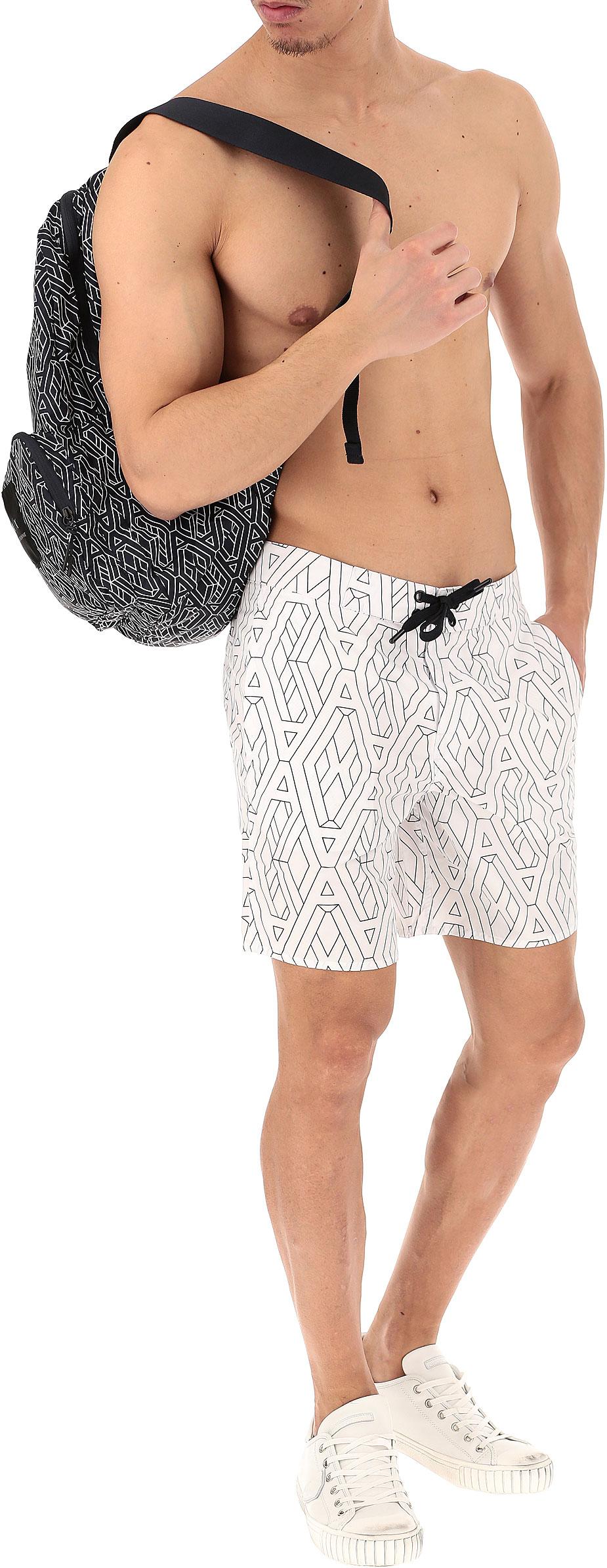 Moda Mare Uomo Emporio Armani, Codice Articolo: 3zzw45-znecz-0183