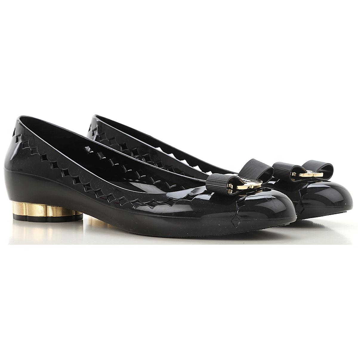 b38f225e442fd Womens Shoes Salvatore Ferragamo, Style code: 688557-jelly-nero