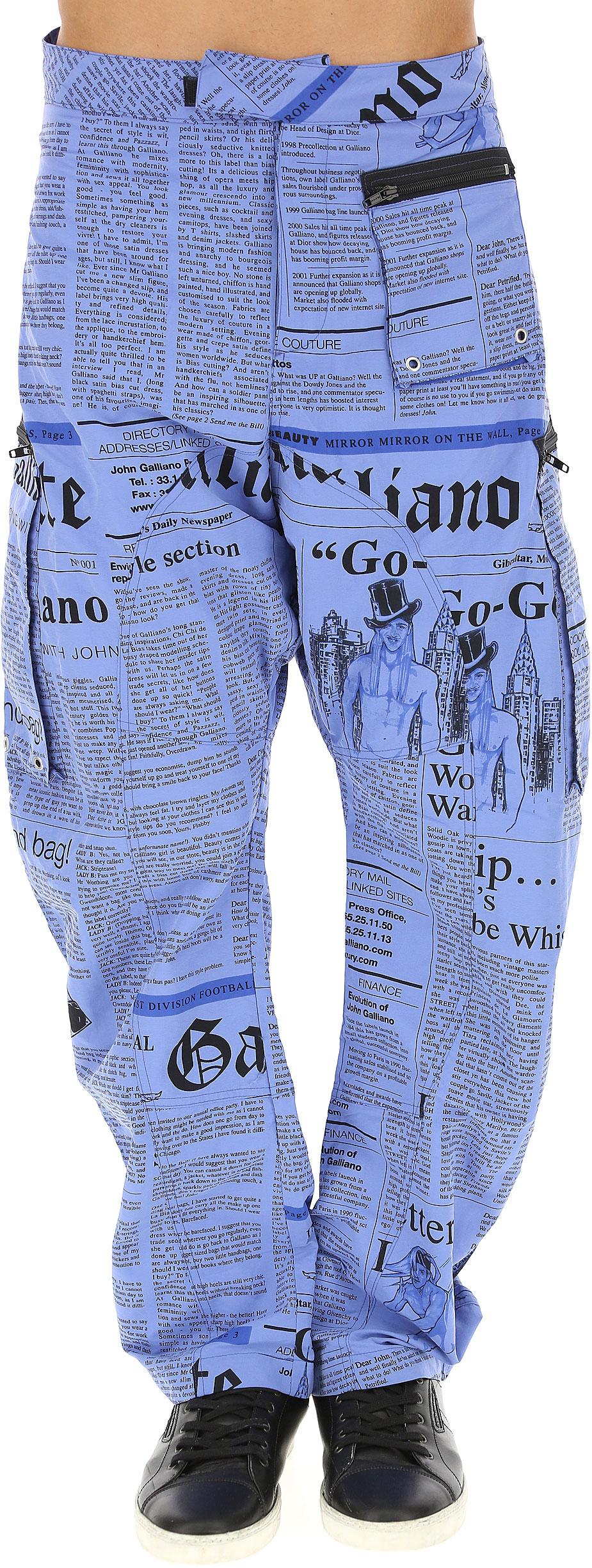 Abbigliamento Uomo Galliano, Codice Articolo: n00-h302-out