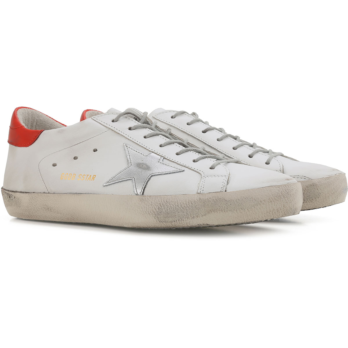 Sneakers for Men On Sale, Dirty White, Leather, 2017, 6.5 Golden Goose