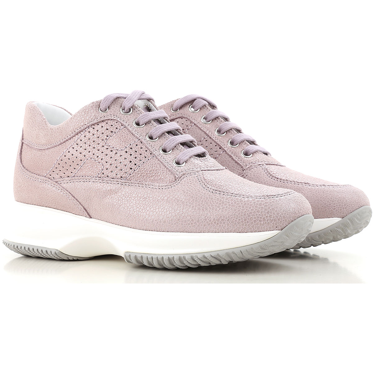 Sneakers for Women On Sale, White, Leather, 2017, US 7.5 (EU 37.5) Hogan