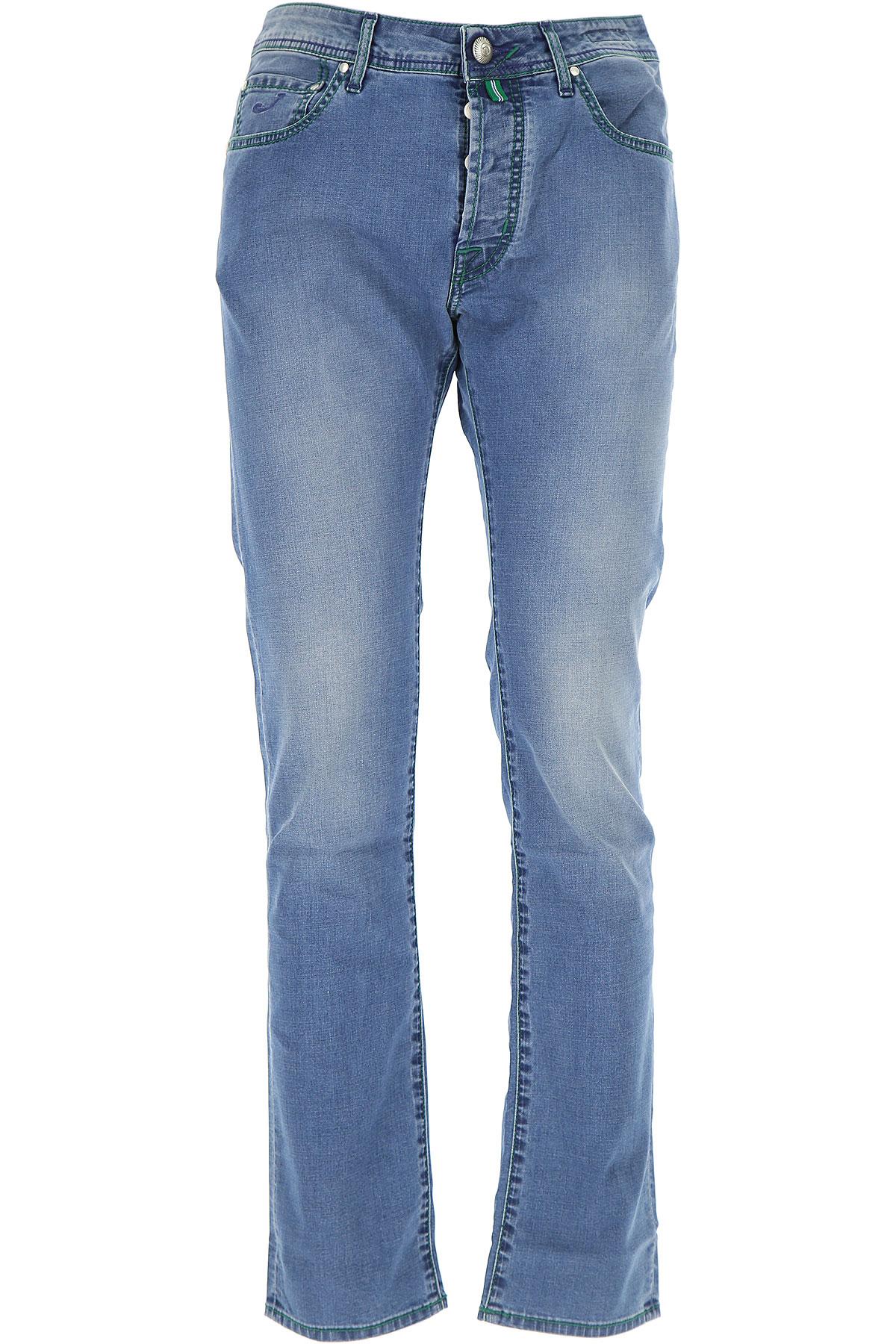 Jeans On Sale, Denim, Cotton, 2017, US 36 - EU 52 US 32 - EU 48 US 33 - EU 49 Jacob Cohen