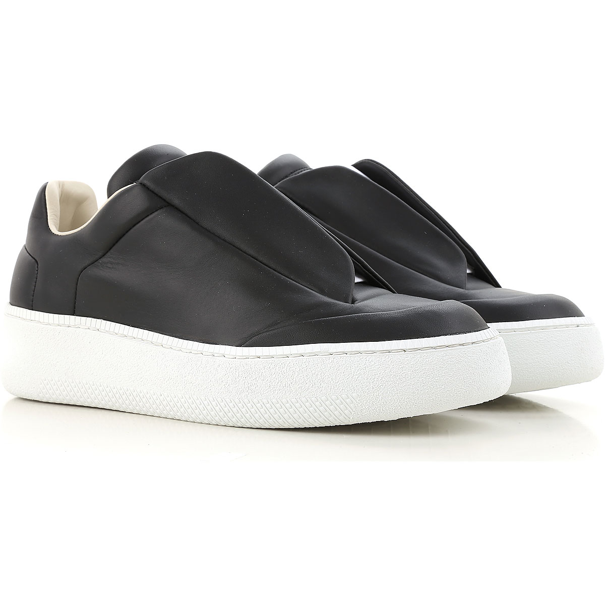 Sneakers for Men On Sale, Black, Leather, 2017, 6.5 6.75 8.5 Maison Martin Margiela