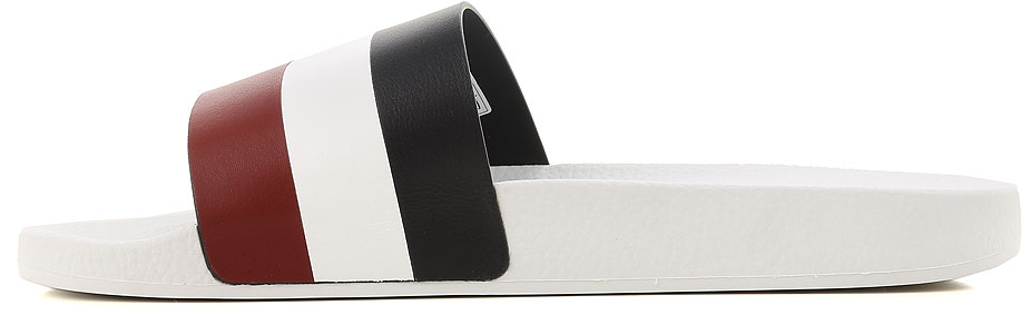 Scarpe Uomo Moncler, Codice Articolo: 101380007857-bianca-