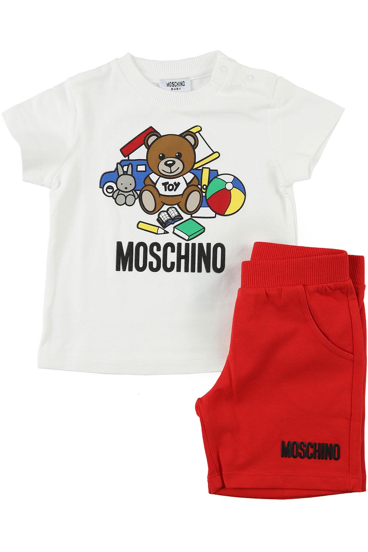 Baby Boy Clothing Moschino Style Code Muk022 Lba00 50316