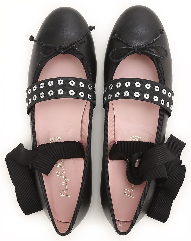 Scarpe Donna Pretty Ballerinas, Codice Articolo: 46054-nero-