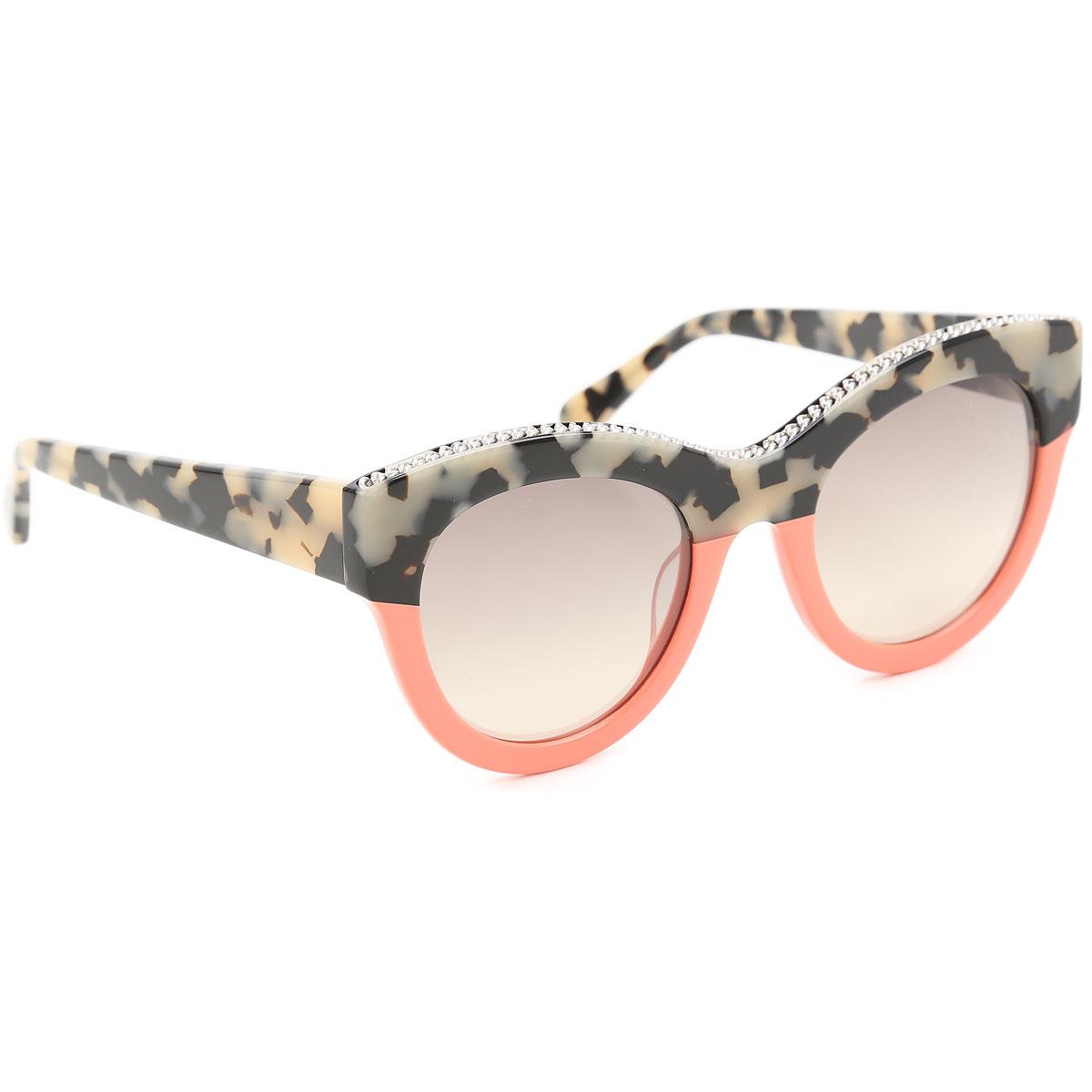 Stella McCartney FALABELLA SC0018S beige havana orange//grey shaded Sunglasses