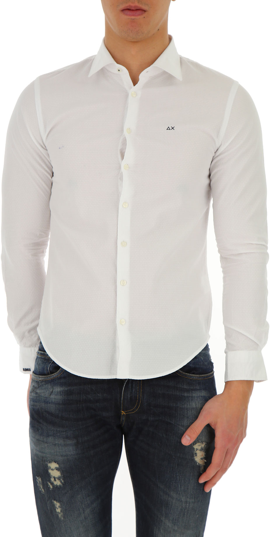 Abbigliamento Uomo Sun68, Codice Articolo: s18104-01c-