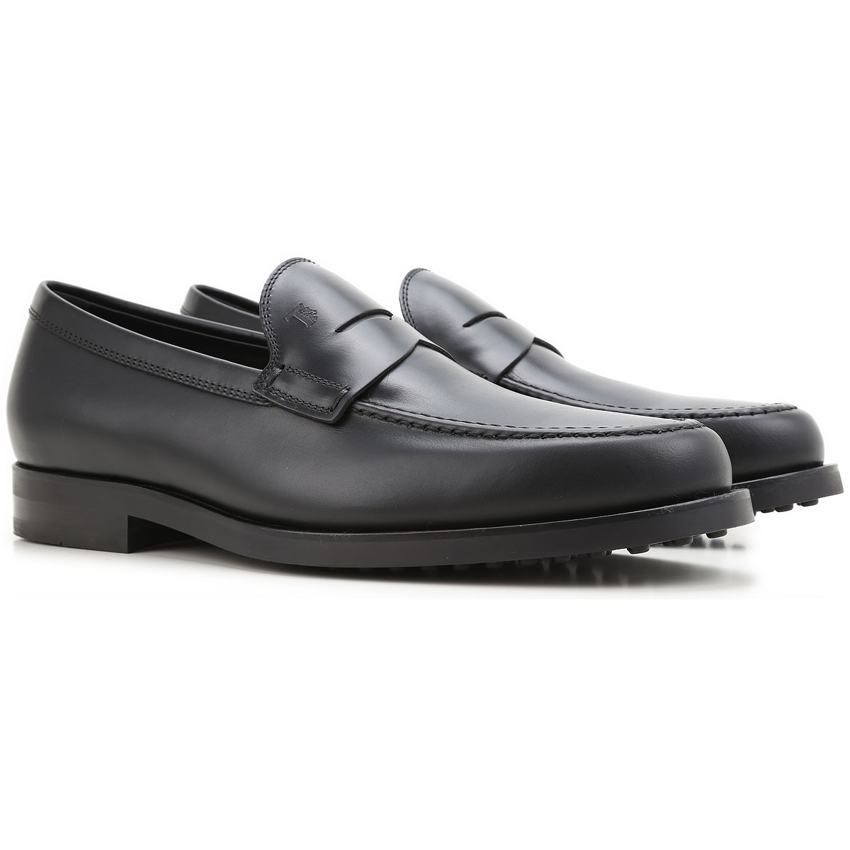 Loafers for Men On Sale, Black, Leather, 2017, 5 6.5 9 Tod's