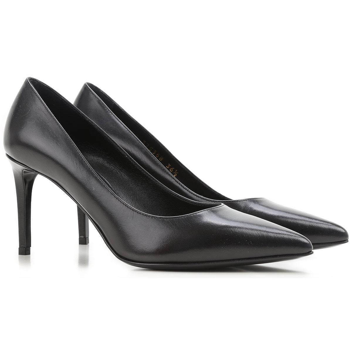chaussures femme yves saint laurent code produit 375368 akp00 1000. Black Bedroom Furniture Sets. Home Design Ideas