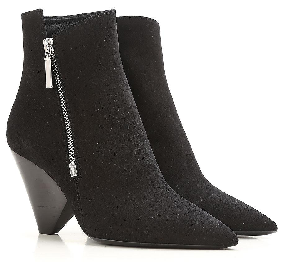 chaussures femme yves saint laurent code produit 484400 d5x00 1000. Black Bedroom Furniture Sets. Home Design Ideas