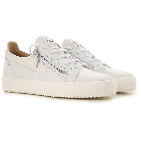 de5e6f8dc Sapatos para Homem Giuseppe Zanotti Design, Detalhe do Modelo:  ru70000-050-bianco
