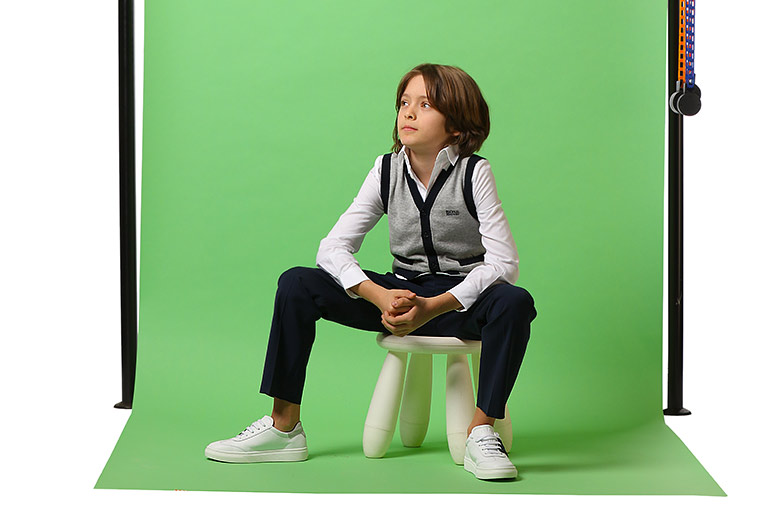 Sapatos Infantis Hogan para Meninos