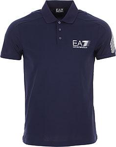 Emporio Armani Tricou Polo pentru Bărbați - Spring - Summer 2021