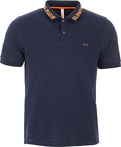 Sun68 Tricou Polo pentru Bărbați - Spring - Summer 2021