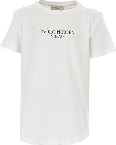 Paolo Pecora Tricou pentru Băieți - Spring - Summer 2021